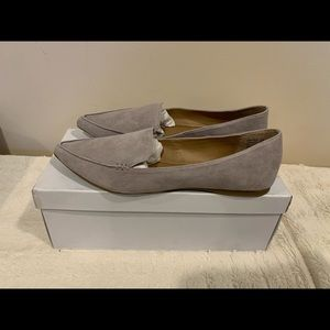 Steve Madden Feather suede loafers